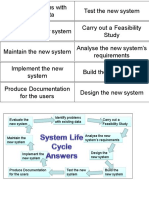 Systems Life Cycle Game