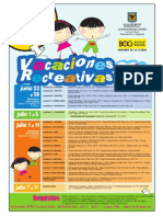 Vacaciones Recreativas junio 08