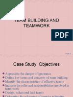 Team Building and Teamwork