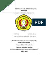 Metode Secant Dan Metode Newton Raphson Uts