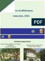 Inducción 2016 II