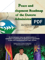 160805 Peace and Development Agenda and Roadmap Policy Dialogue