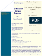 H. L. Loucks - The Great Conspiracy of the House of Morgan Exposed and How to Defeat It (1916)