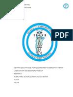 Desarrollo Tif Cepeoran 2016