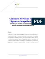 Cimento Portland versus Ligantes Geopoliméricos