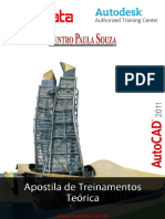 AutoCAD 2011 APOSTILA TEÓRICA
