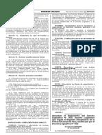 Decreto Supremo 013-2016