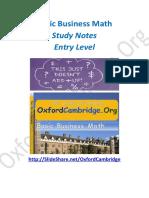 Basicbusinessmath Studynotes 131221043822 Phpapp01