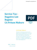 Service Tax - PDF e Book - 10th Edn- CA Pritam Mahure