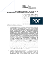 Proyecto de Escrito - Informe a La Odecma - Tid Fiscal de Drogas