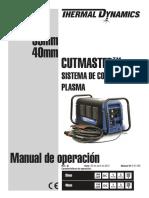 DocLib_6086_CUTMASTER 35mm 40mm Operating Manual_Spanish (0-5118S)_April2012
