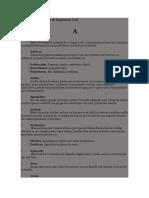 Glosario de Términos de Ingeniería Civil