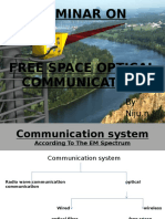 Seminar on Free Space Communication