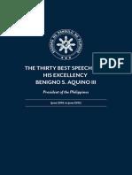 30Best Speeches of Pres. Aquino