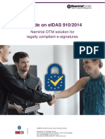 A guide on eIDAS 910/2014