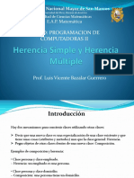 Herencia Simply y Múltiple