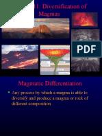 Chapter 11 - Diversification of Magmas