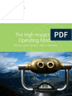 High-impact-human Resources Operatring Model