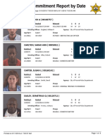 Peoria County Jail Booking Sheet for Sept. 11, 2016