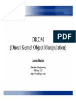 Direct Kernel Object Manipulation