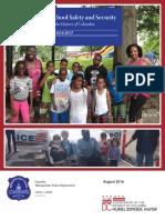 MPD School Safety Annual Report - School Year 2016-17