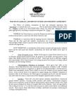 BALDOR Waiver Agreement and GMP