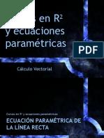 Curvas en R2 y Ecuaciones Paramétricas