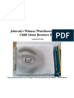 Jehovah Witness Watchtower JW.org Child Sex Abuse Resource Kit