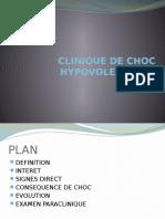 Clinique de Choc Hypovolemique
