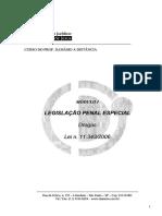 Apostila - Legislação Penal Especial