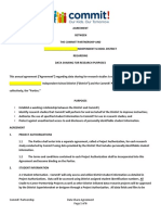 Strive Together Data Sharing Agreement Template