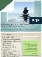 Mindfulness Trauma Presentations