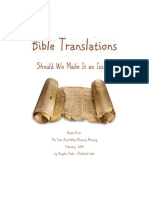 Bible Translations May 2016 Booklet