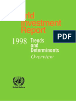 World Investment Report - Overview