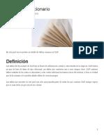 Tablas Del Diccionario (SE16N)