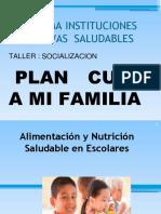 Alimentacion Saludable en Escolares