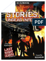 Stories of the Undead Inferno - Last night on earth RuleBook