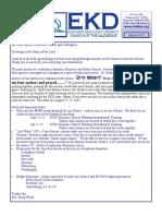 EKY District newsletter