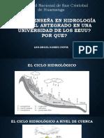 0. M. Sc LUIS ANGEL GOMEZ CUNYA Qué se enseña en Hidrología para el Antegrado- .pdf