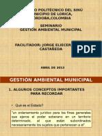 Presentación Gestión Ambiental 2013