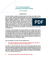 Don Varden - The 100 Commandments of Successful Commodity Trading