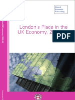 London's Place in the UK Economy 2005-06