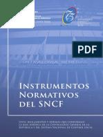 Instrumentos Normativos del SNCF