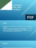 Acute coronary syndrome and arrhythmias.pptx