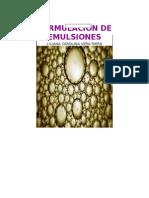 Formulaciones de Emulsiones