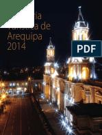 Memoria Turismo Arequipa 2014