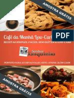 Receitas de Caf Da Manh Low Carb Para Emagrecer Feliz AMOSTRA GR TIS 3 v3