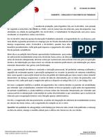 Gabarito - Simulado - XX Exame de Ordem - 2ª fase - Direito do Trabalho