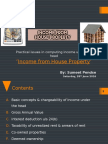 House Property Income PPT 23.04.16