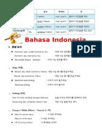 Bahasa Indonesia (Grammar)